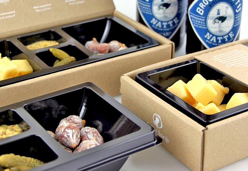 Emballages pour produits alimentaires